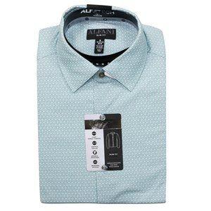 Alfani Alfatech Long Sleeve Button Down Shirt NWT